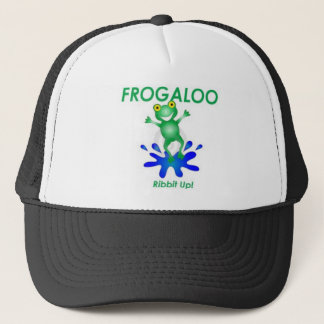 frogaloo.com trucker hat