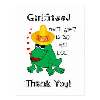 Frogette Frog ~ My Wedding Postcard