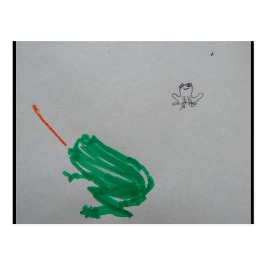 Frogger Postcard