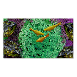 Froggery 2 with Koi Magical Surreal Kid's Pack Of Standard Business Cards