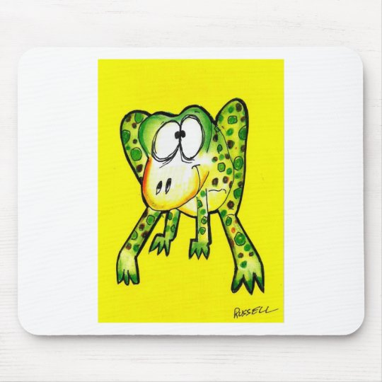 Froggery Mouse Mat