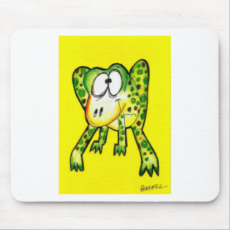 Froggery Mouse Pad
