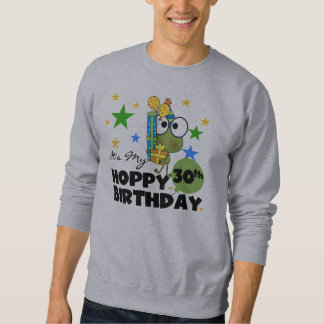 Froggie Hoppy 30th Birthday Pullover Sweatshirt