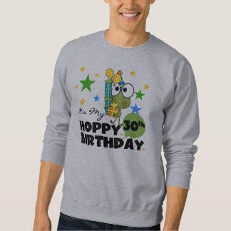 Froggie Hoppy 30th Birthday Sweatshirt