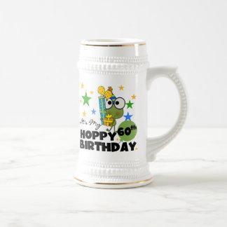 Froggie Hoppy 60th Birthday Beer Stein