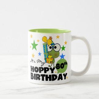 Froggie Hoppy 80th Birthday Coffee Mug
