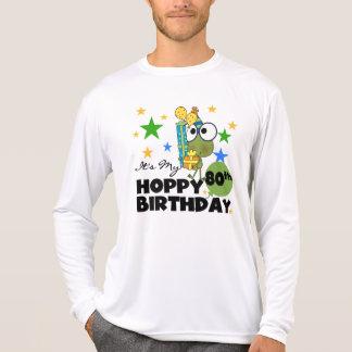Froggie Hoppy 80th Birthday Shirts