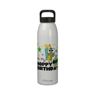 Froggie Hoppy 80th Birthday Drinking Bottle