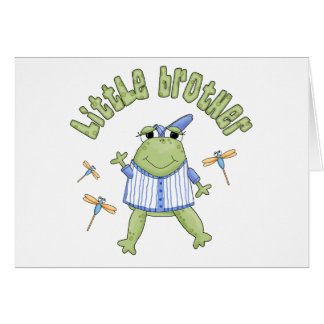 Froggie Little Brother Note Card