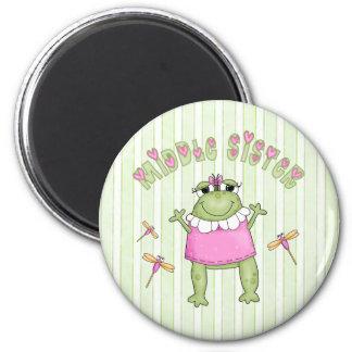 Froggie Middle Sister Fridge Magnets