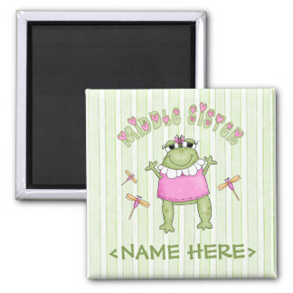 Froggie Middle Sister Magnets