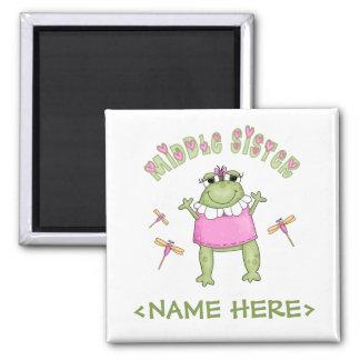 Froggie Middle Sister Refrigerator Magnet