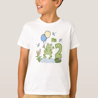 Froggy 2nd Birthday T-Shirt