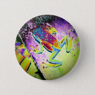 Froggy 6 Cm Round Badge