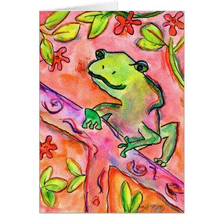 Froggy by Brett Walker, Age 14 Card