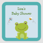 Froggy Frog Bee Envelope Seals Stickers