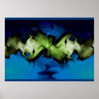 froggy gnarl print