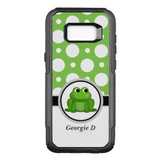 Froggy Green Polka Dot Samsung Galaxy S8 Case