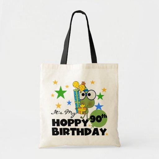 Froggy Hoppy 90th Birthday Bag