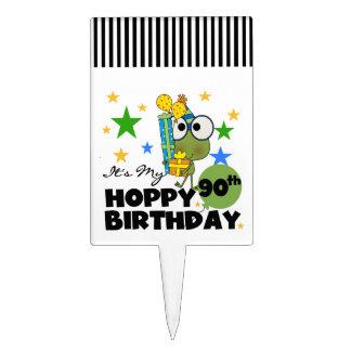 Froggy Hoppy 90th Birthday Cake Picks