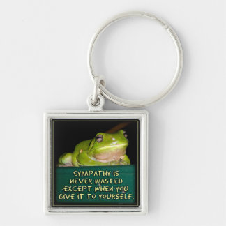 Froggy Sympathy is Never Wasted Keychain