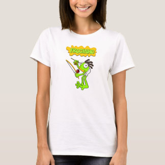 Froginho the Capoeira frog Womens tshirts/sweaters T-Shirt