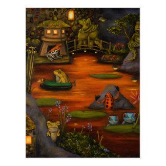 Frogland 2 postcard
