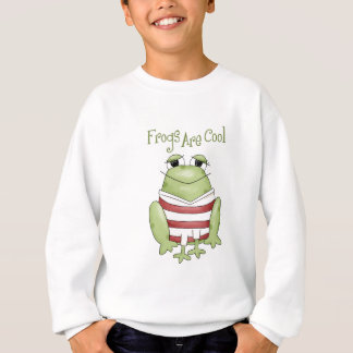 Frogs Are Cool Kids Sweatshirt