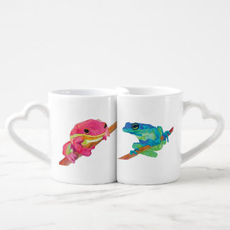 Frogs Coffee Mug Set