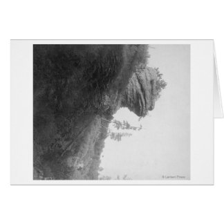 Frog's Head Rock on Deadwood Road Photograph Greeting Card
