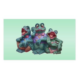 Frogs Herpetologist Pack Of Standard Business Cards