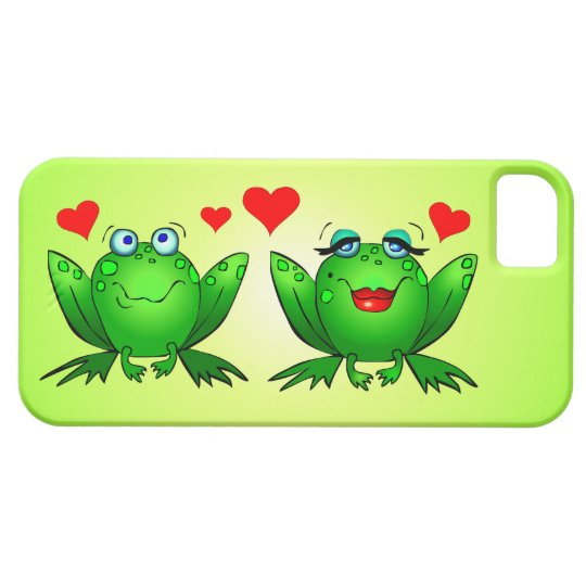 Frogs in Love iPhone Case