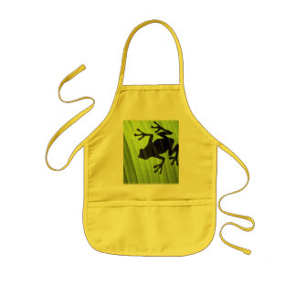 Frogs Kids Apron