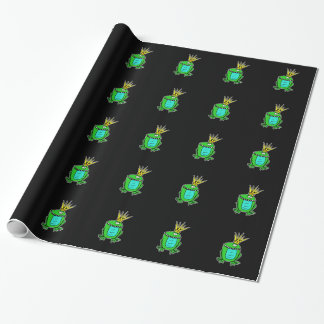Frogs King Wrapping Paper