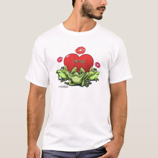 Frogs & Kisses - Valentine T-Shirt