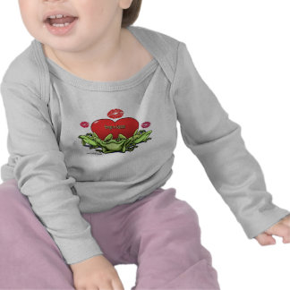 Frogs & Kisses - Valentine Tee Shirt