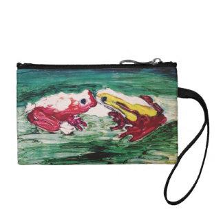 frogs,kissing,maui,hawaii,coin purse