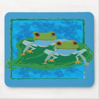 Frogs Mouse Mats