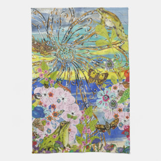 Frogs Paradise Kitchen Towel