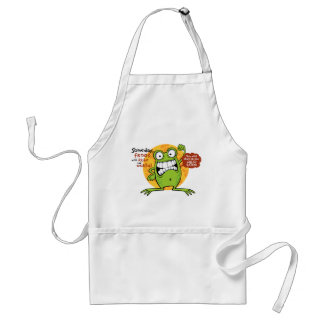 Frogs Rule Standard Apron