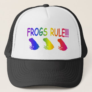 Frogs Rule Trucker Hat