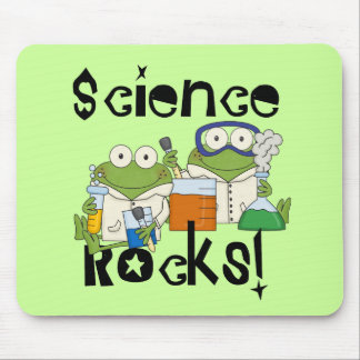 Frogs Science Rocks Mouse Mat
