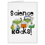 Frogs Science Rocks Note Card
