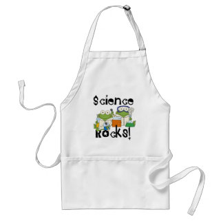 Frogs Science Rocks Standard Apron