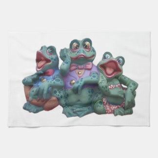 Frogs Tea Towel