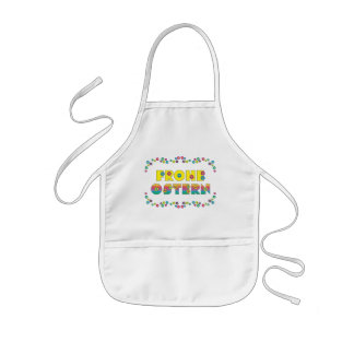 Frohe Ostern Kids' Apron