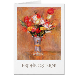 Frohe Ostern. Fine Art Easter Cards in German