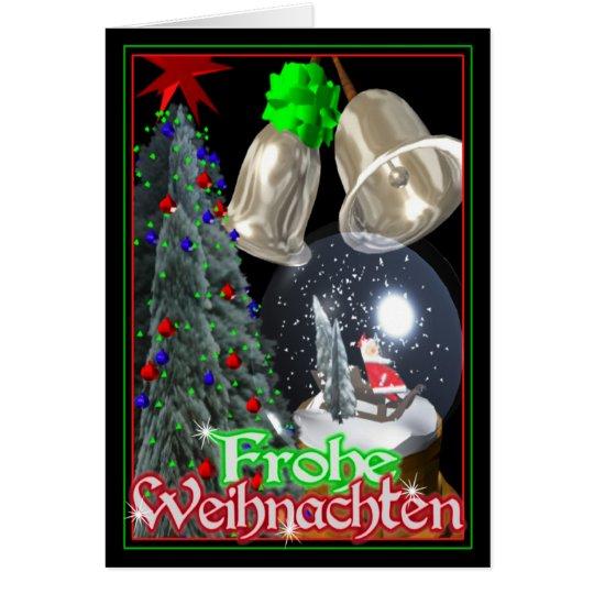 Frohe Weihnachten  German Christmas card