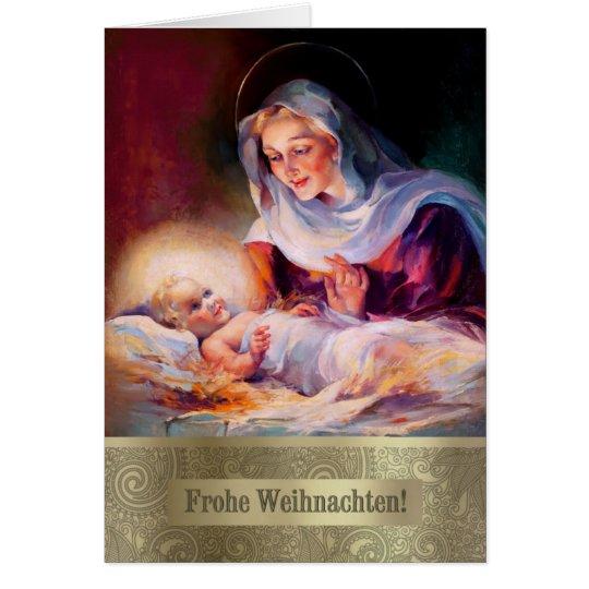 Frohe Weihnachten. German Fine Art Christmas Cards
