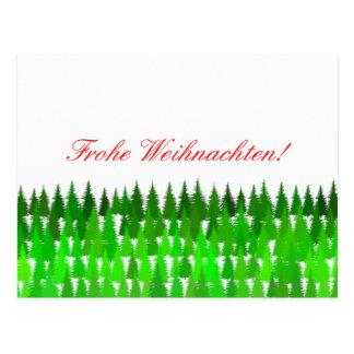 Frohe Weihnachten! German Merry Christmas Postcard
